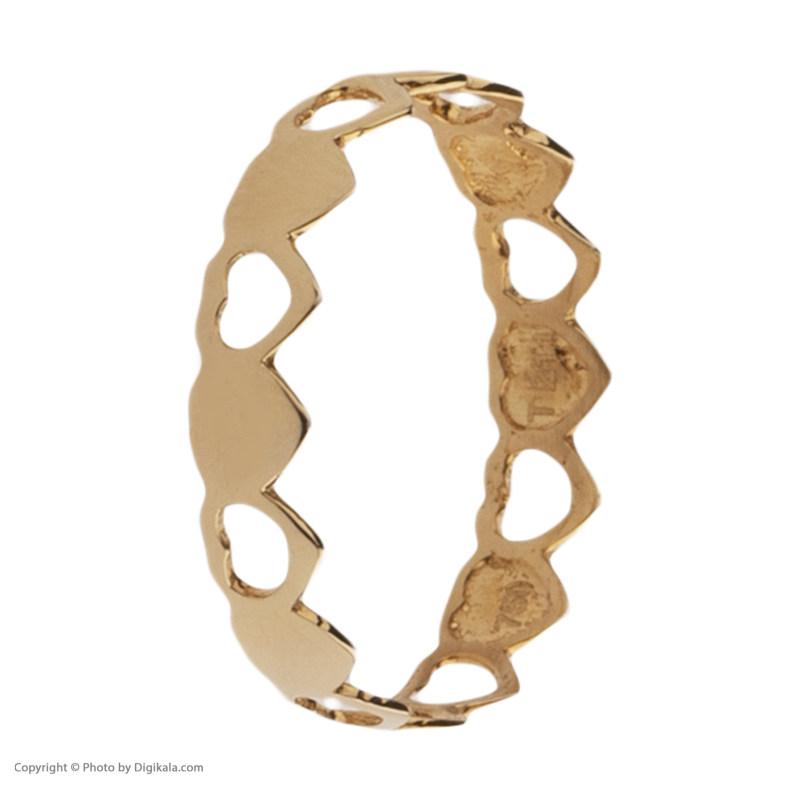 انگشتر طلا 18 عیار زنانه مایا ماهک مدل MR0481