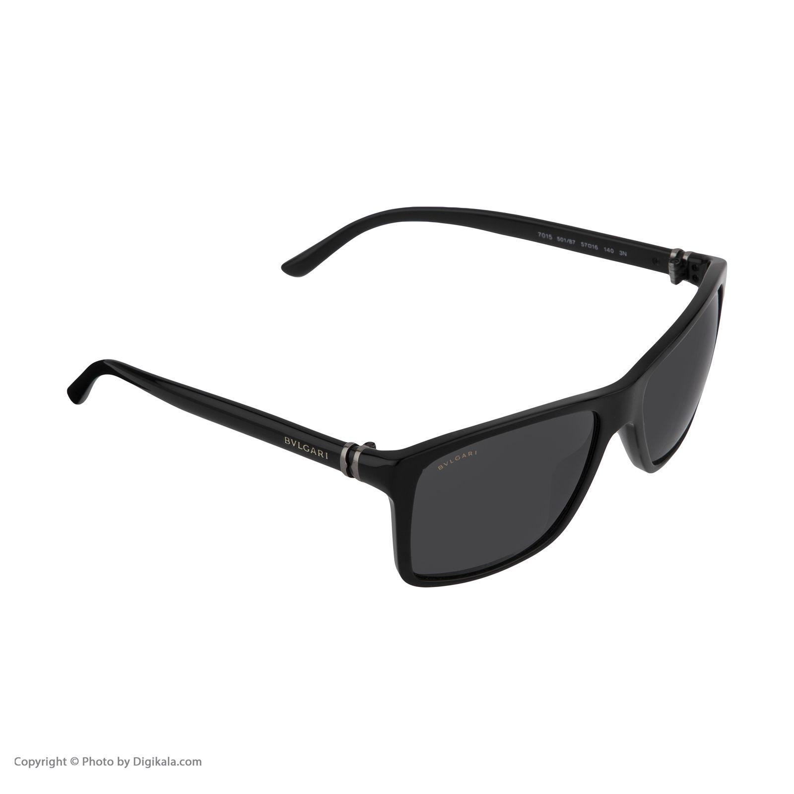 عینک آفتابی زنانه بولگاری مدل BV7015S 50187 -  - 6