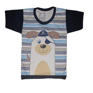 تی شرت نوزادی بانینی طرح سگ کوچولو کد ۱۱۰