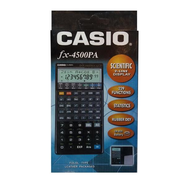 ماشین حساب کاسیو مدل FX-4500PA کد 58750