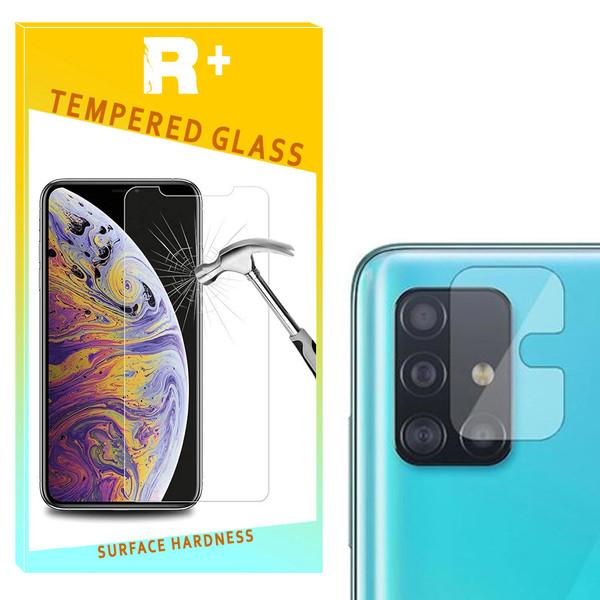محافظ لنز دوربین شیشه ای آرپلاس مدل 66مناسب برای گوشی موبایل سامسونگ Galaxy A51