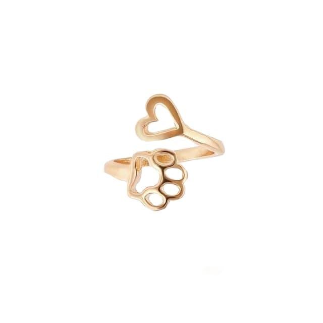 انگشتر طلا 18 عیار زنانه قیراط کد GH534