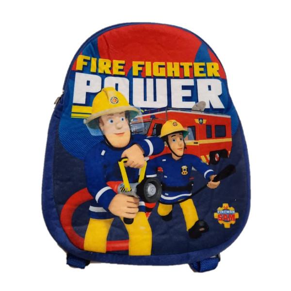 کوله پشتی بچگانه مدل سام آتش نشان