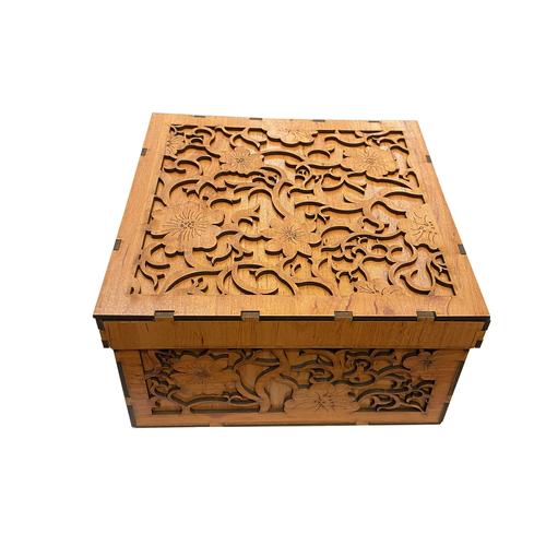 جعبه هدیه چوبی کد 58