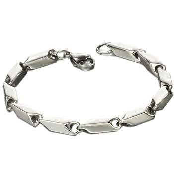 دستبند مردانه آی جواهر مدل فردبنت