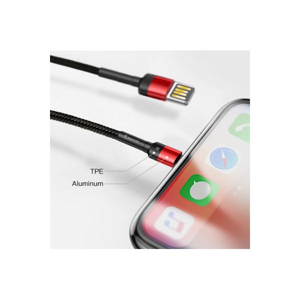 کابل تبدیل USB به لایتنینگ باسئوس مدل CALKLF-HG1 Cafule Special Edition طول 2 متر main 1 1
