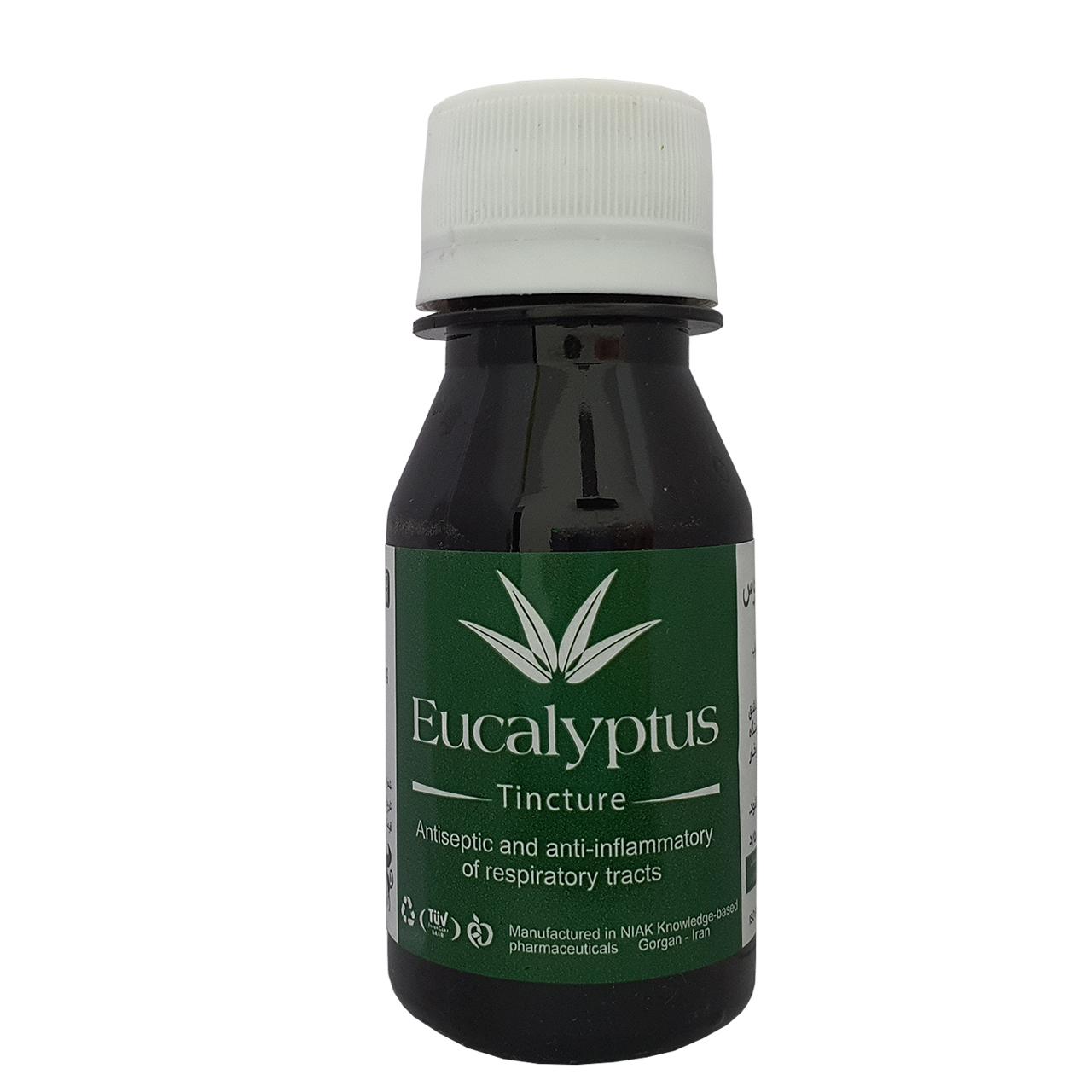 محلول بخور اکالیپتوس نیاک مدل Eucalyptus حجم 60 میلی لیتر