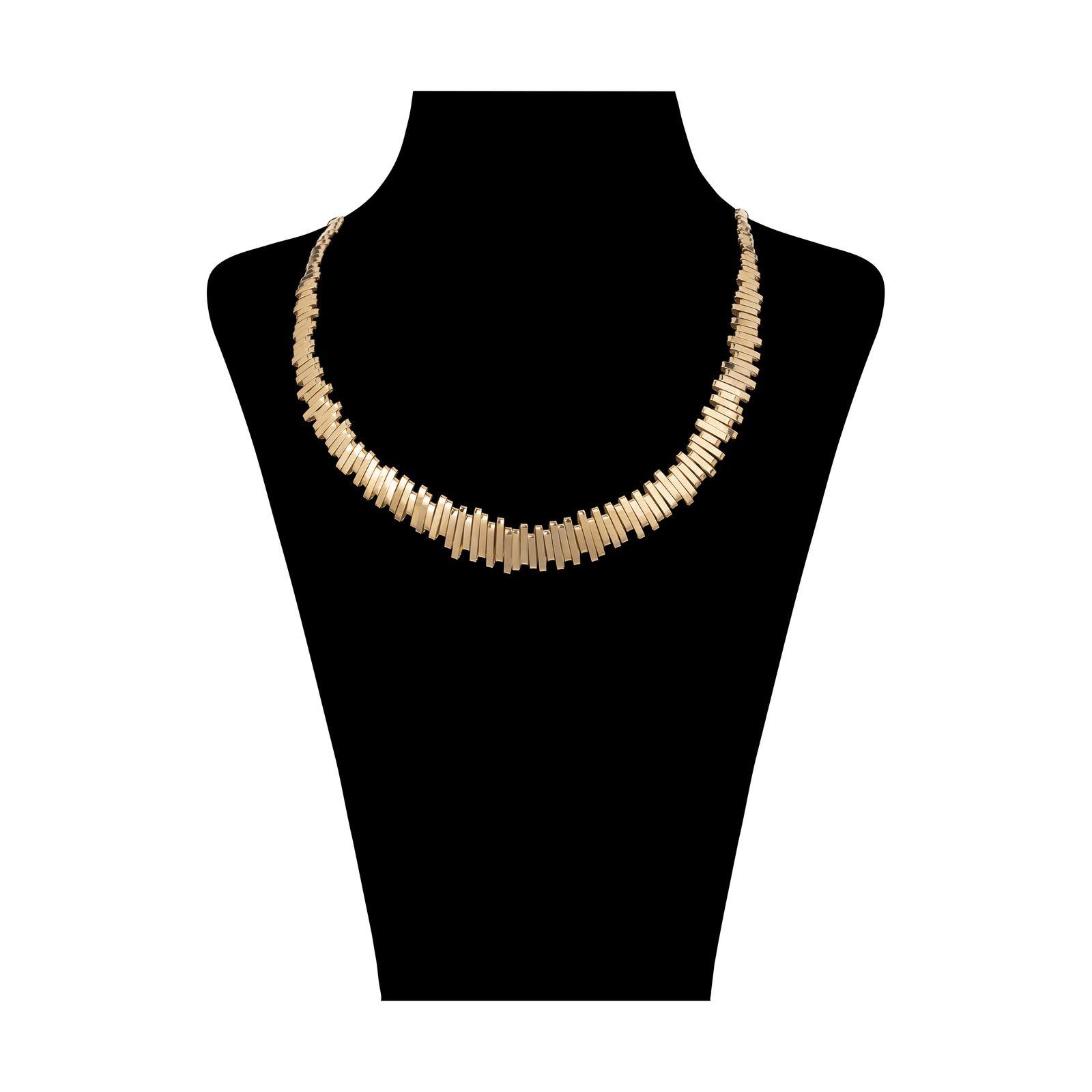 گردنبند طلا 18 عیار زنانه سنجاق مدل X069550 -  - 1