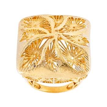 انگشتر طلا 18 عیار زنانه جواهری سون مدل 2744