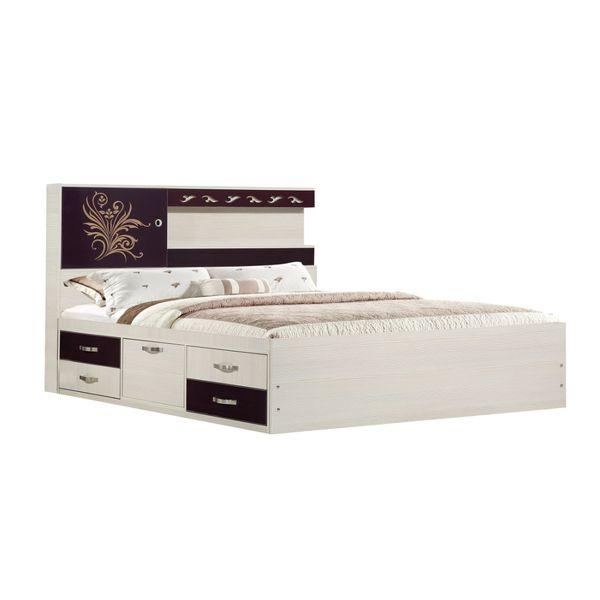 تخت خواب دو نفره کد 2212 سایز 160x200 سانتی متر