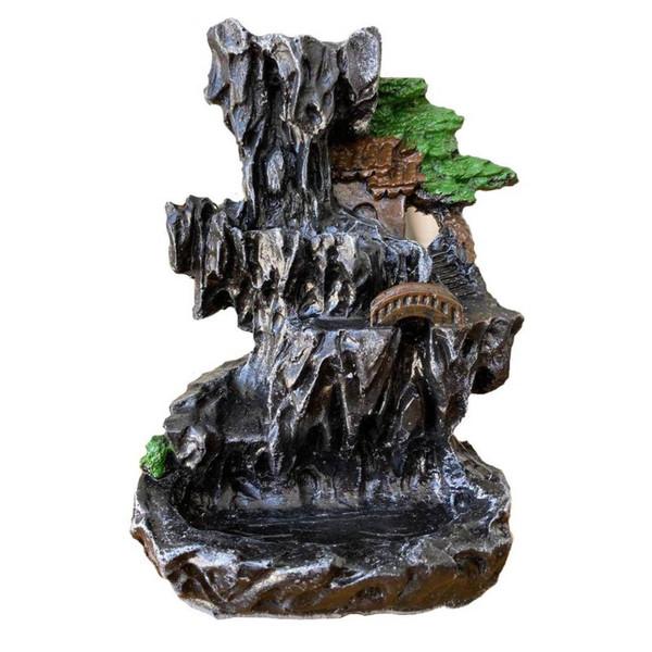 جای عود مدل  آبشاری طرح کلبه دار کد 11