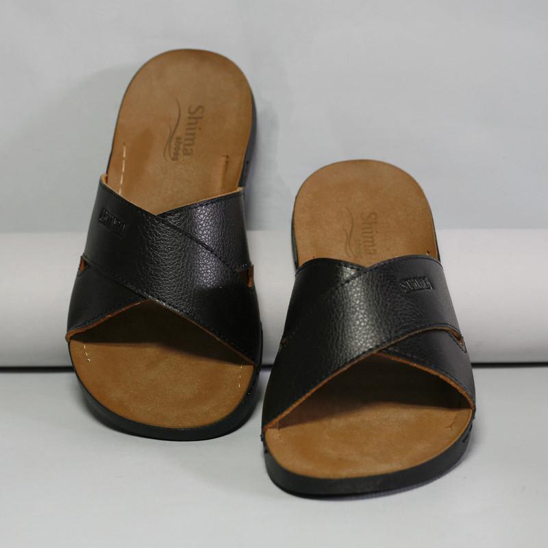 صندل مردانه کفش شیما مدل relax کد 09