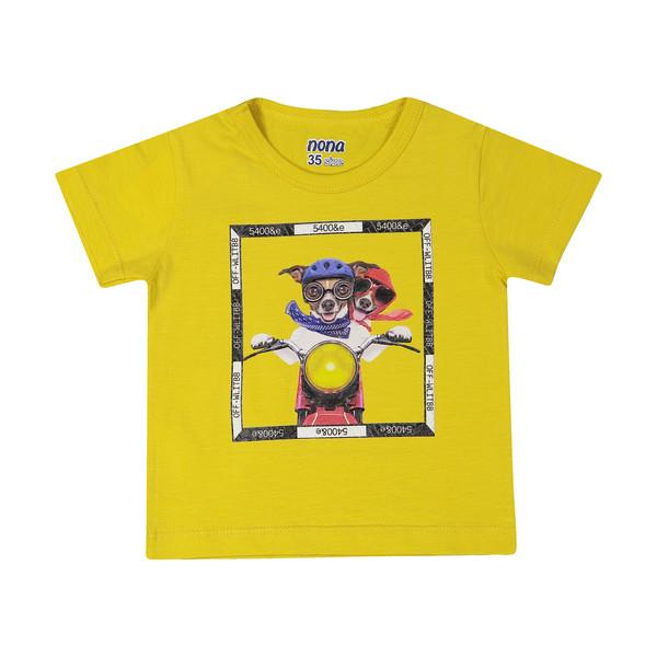 تی شرت پسرانه نونا مدل 2211114-16