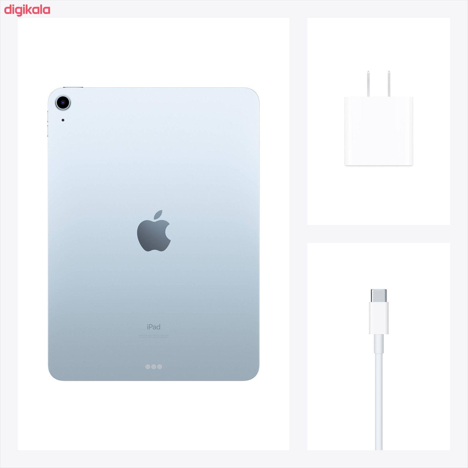 تبلت اپل مدل iPad Air 10.9 inch 2020 WiFi ظرفیت 256 گیگابایت  main 1 3
