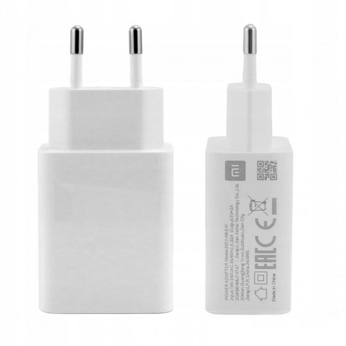 شارژر دیواری شیائومی مدل MDY-09-EW به همراه کابل تبدیل USB-C  main 1 1