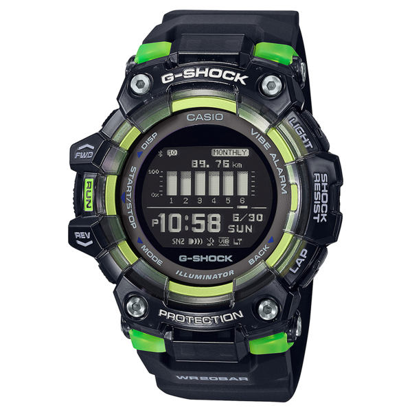 ساعت مچی دیجیتال مردانه کاسیو مدل GBD-100SM-1DR