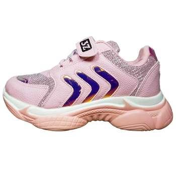 کفش پیاده روی دخترانه مدل ژینوس کد 2022 رنگ صورتی