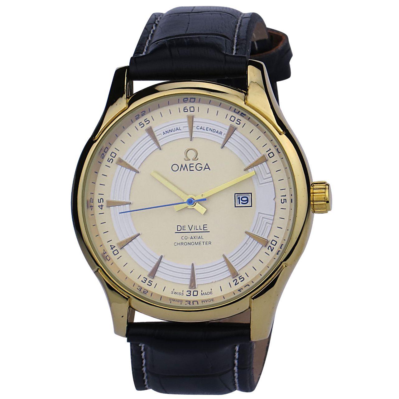 قیمت                      ساعت مچی عقربهای مردانه مدل O.M.G B110