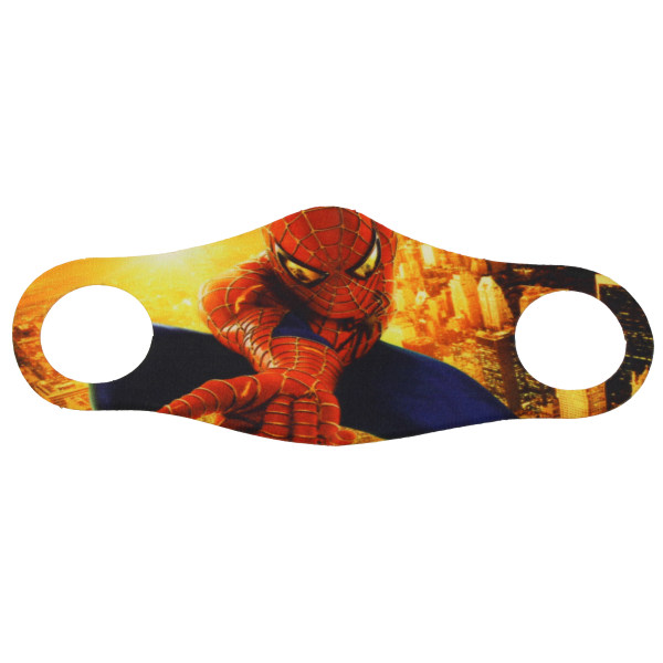 ماسک تزیینی صورت بچه گانه طرح مرد عنکبوتی مدل 006
