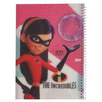 دفتر مشق 50 برگ آتی طرح The Incredibles