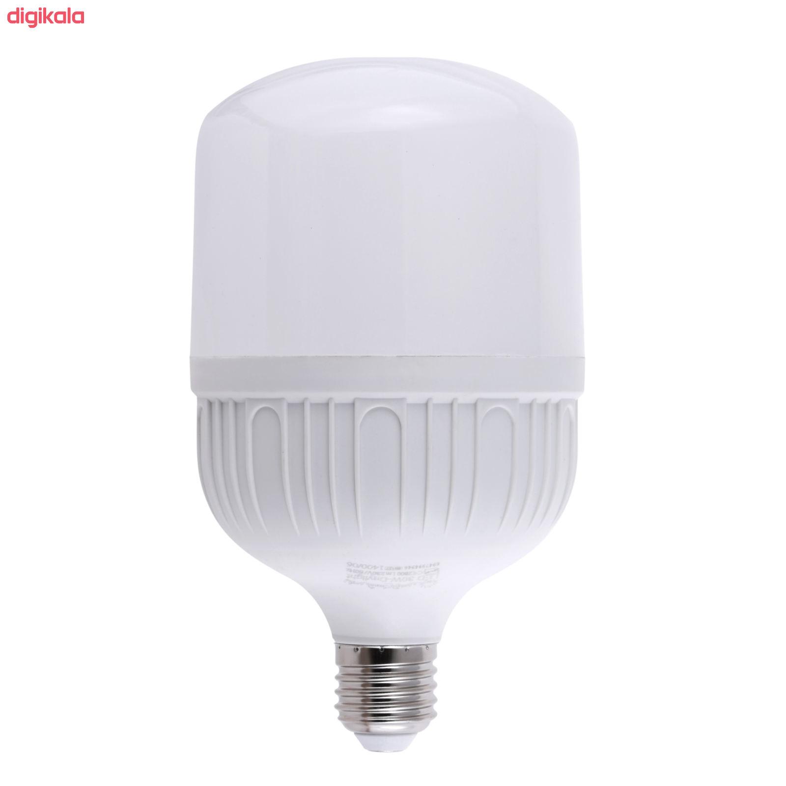 لامپ ال ای دی 30 وات پارس شعاع توس مدل CY30 پایه E27 main 1 2