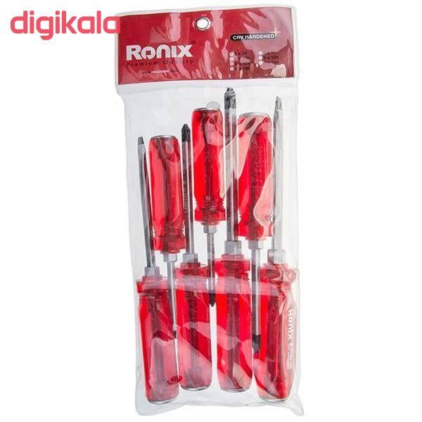 مجموعه 7 عددی پیچ گوشتی رونیکس کد RH-2906 main 1 2