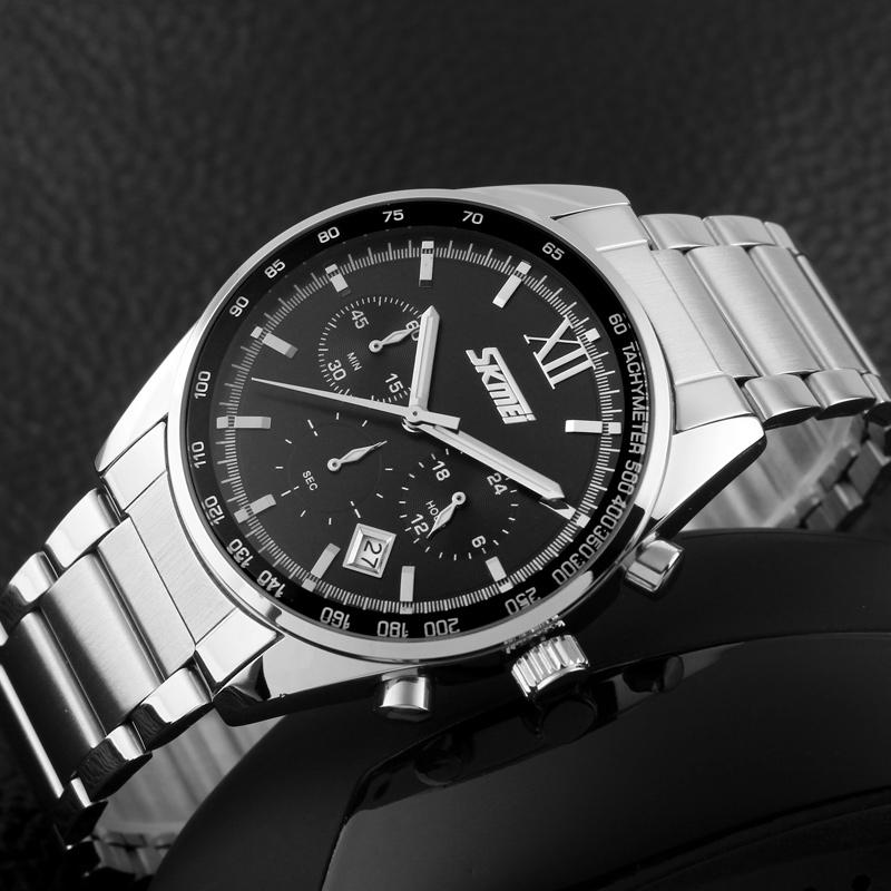 ساعت مچی عقربهای مردانه اسکمی مدل 9096M-N2