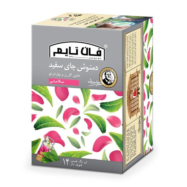 دمنوش چای سفید فان تایم بسته 14 عددی