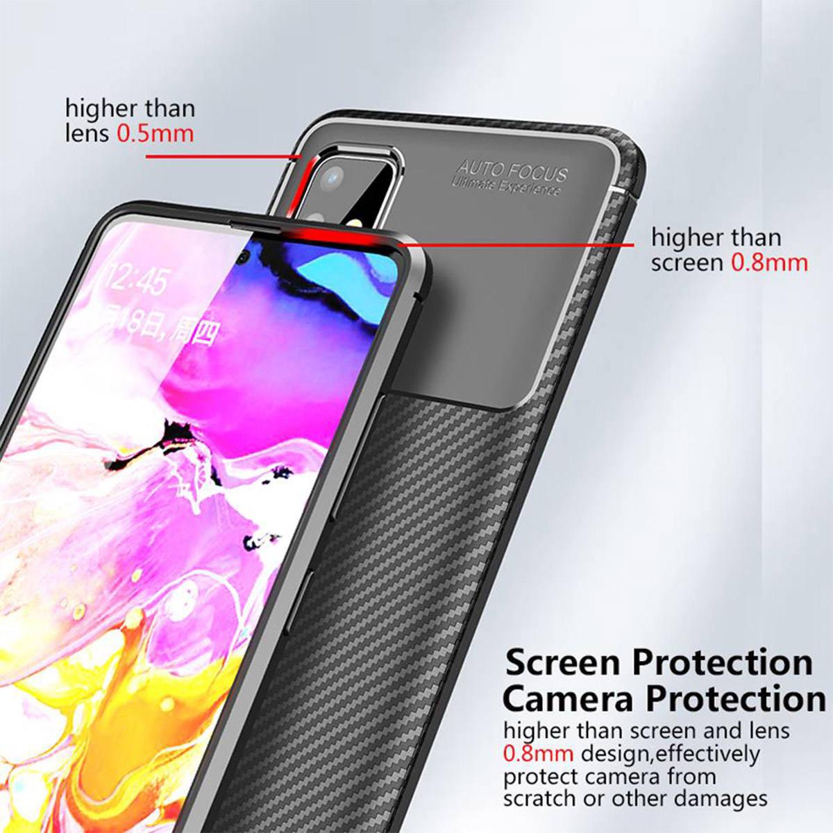 کاور لاین کینگ مدل A21 مناسب برای گوشی موبایل سامسونگ Galaxy A71 thumb 2 22
