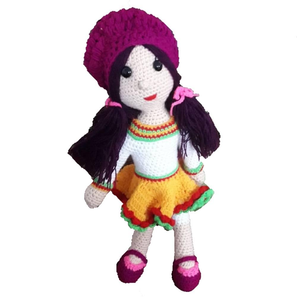 عروسک بافتنی کد 2684