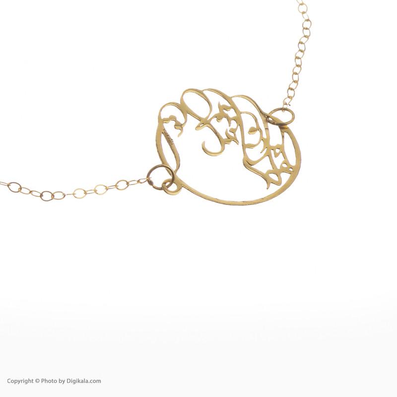 دستبند طلا 18 عیار زنانه مایا ماهک مدل MB1102