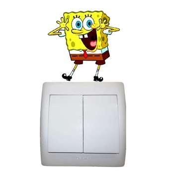استیکر مستر راد طرح باب اسفنجی کد 002 SpongeBob