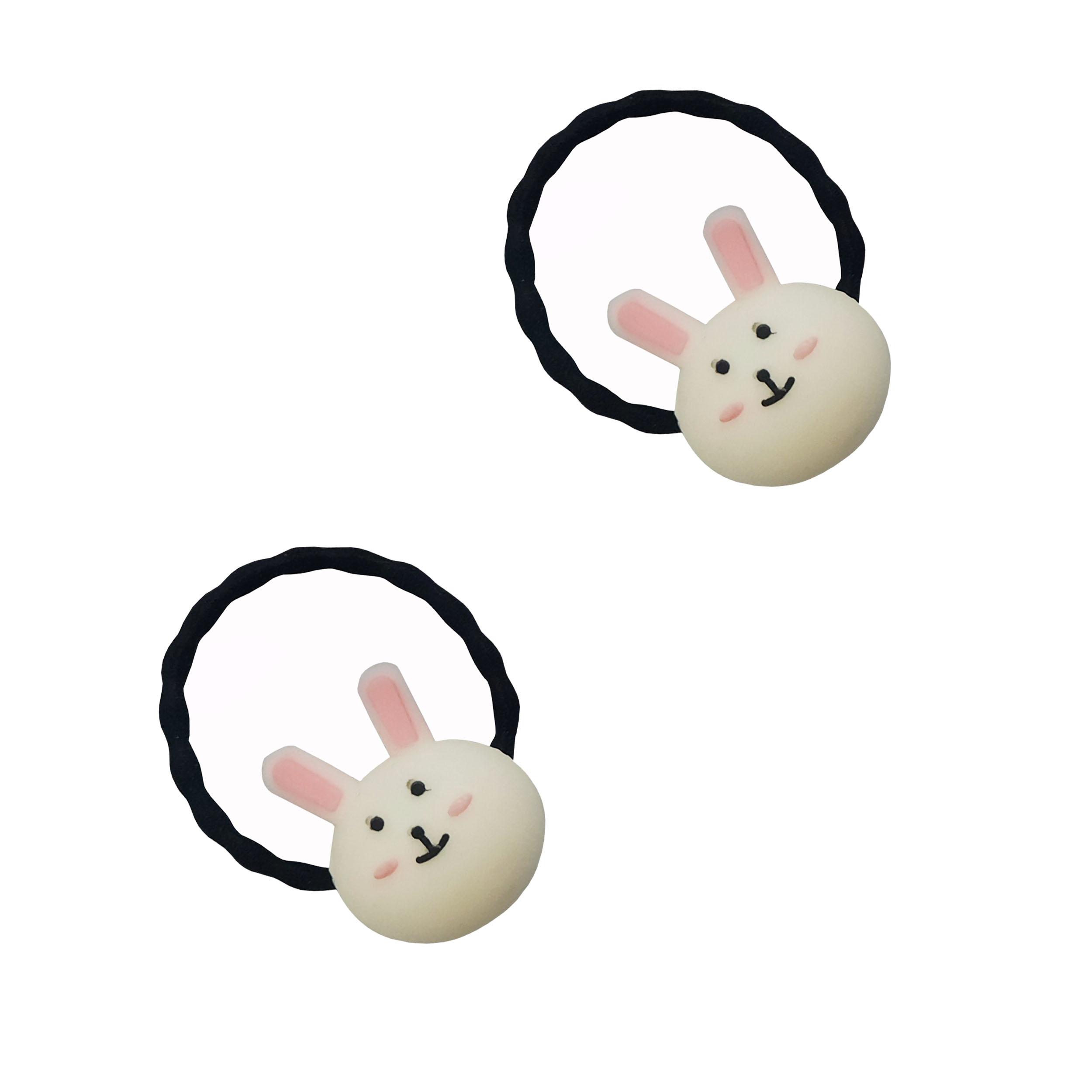 کش مو دخترانه مدل خرگوش کد 90050 بسته 2 عددی