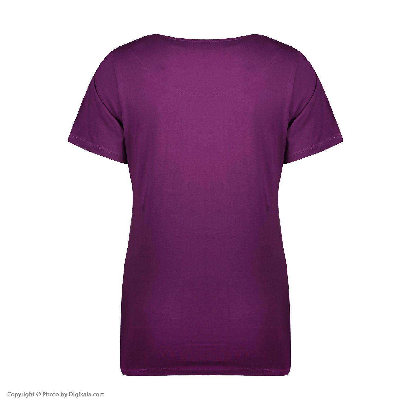 ست تی شرت و شلوارک راحتی زنانه مادر مدل 2041101-67 -  - 6