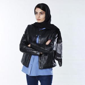کت چرم زنانه چرم مشهد مدل C0205-001