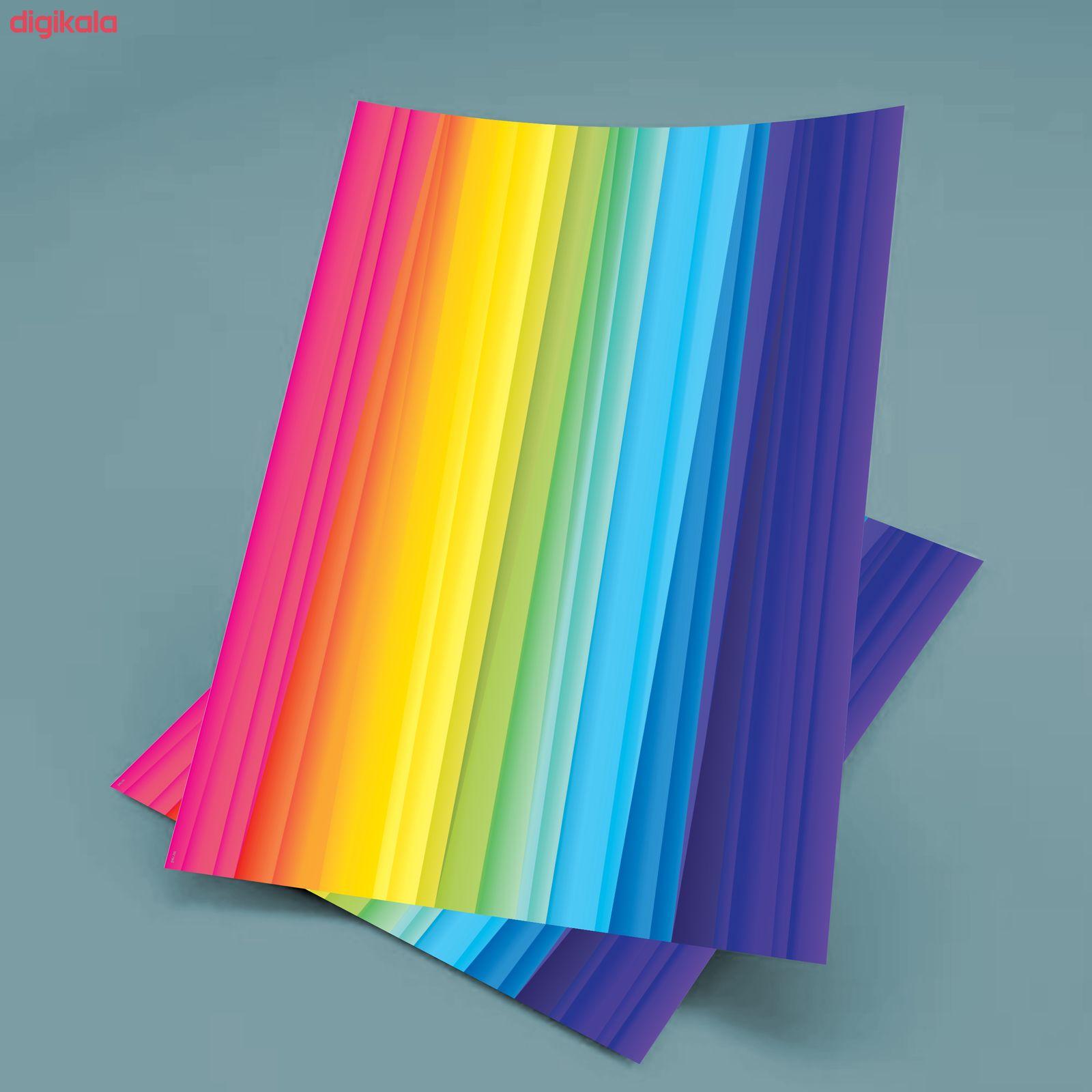 کاغذ رنگی A4 مستر راد مدل رنگارنگ بسته 10 عددی main 1 15
