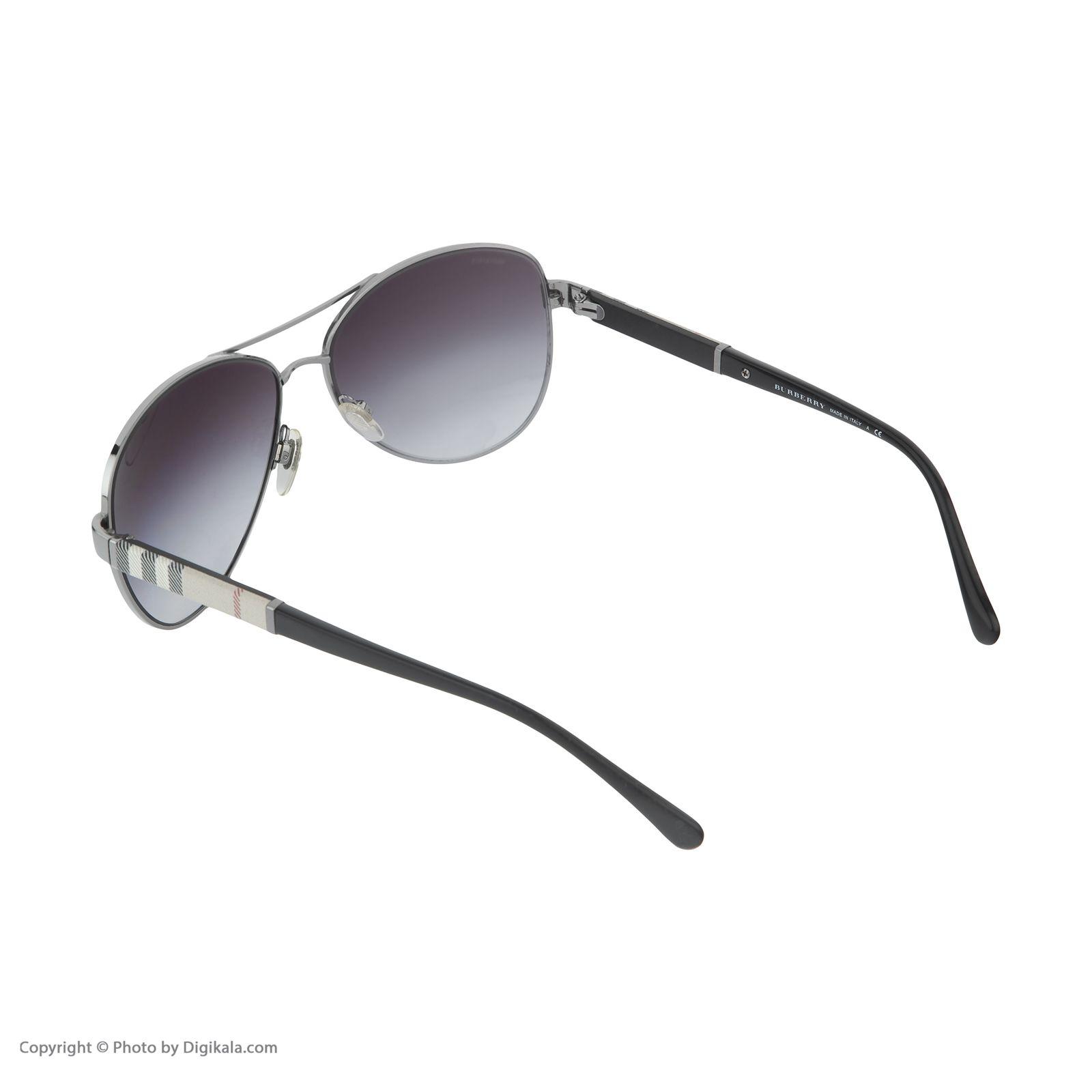 عینک آفتابی مردانه بربری مدل BE 3080S 10038G 59 -  - 5