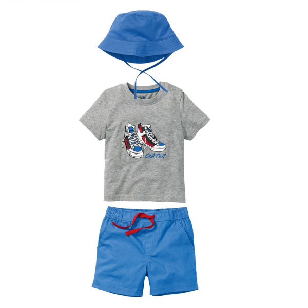 ست 3 تکه لباس پسرانه لوپیلو کد Z-GJ7