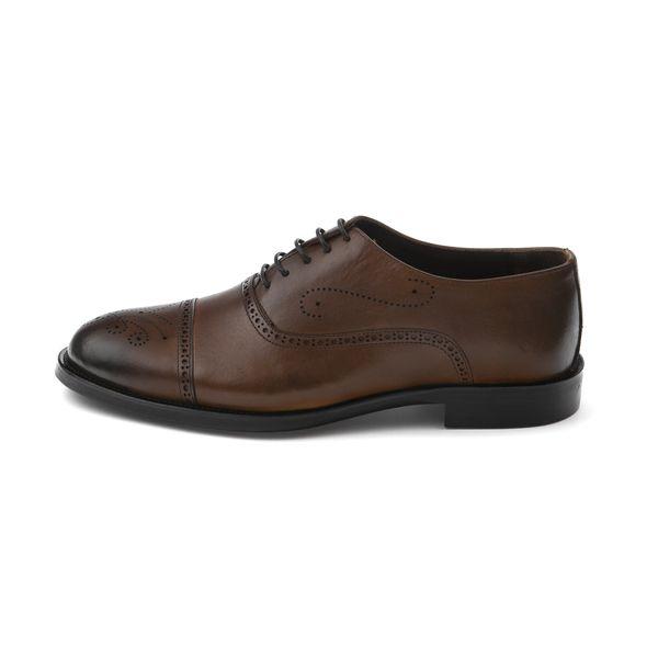 کفش مردانه چرم آرا مدل sh026 gh