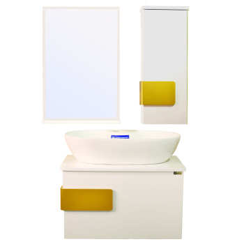 ست کابینت و روشویی مدل lu604003 به همراه اینه و باکس
