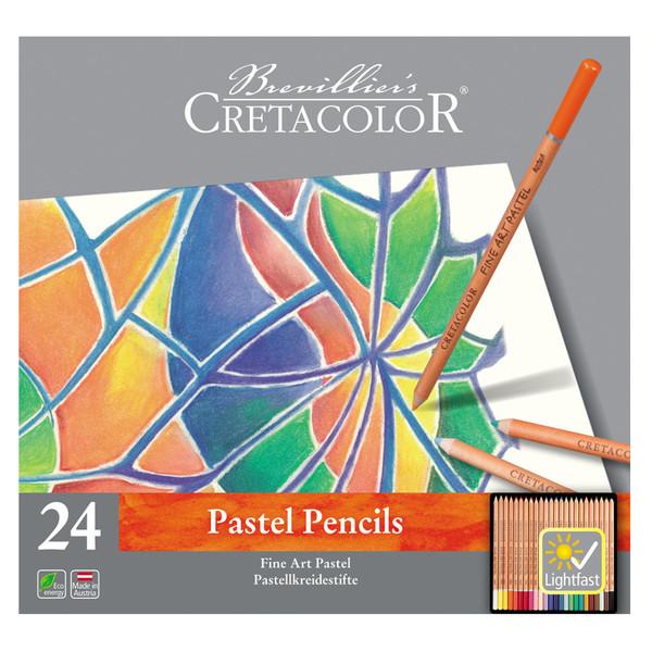 مداد پاستل 24 رنگ کرتاکالر کد 91906