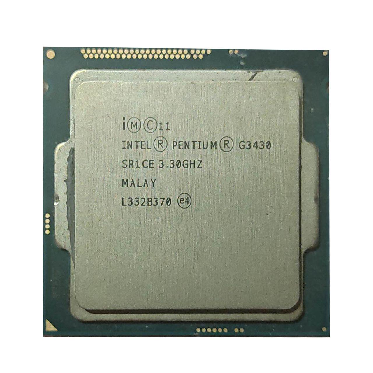 پردازنده مرکزی اینتل سری Haswell مدل Pentium G3430