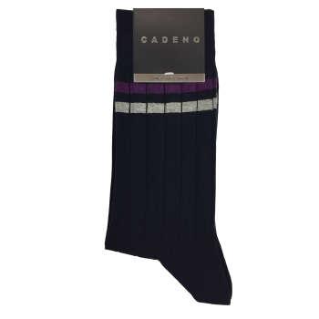 جوراب مردانه کادنو مدل ST-R34 رنگ سرمه ای