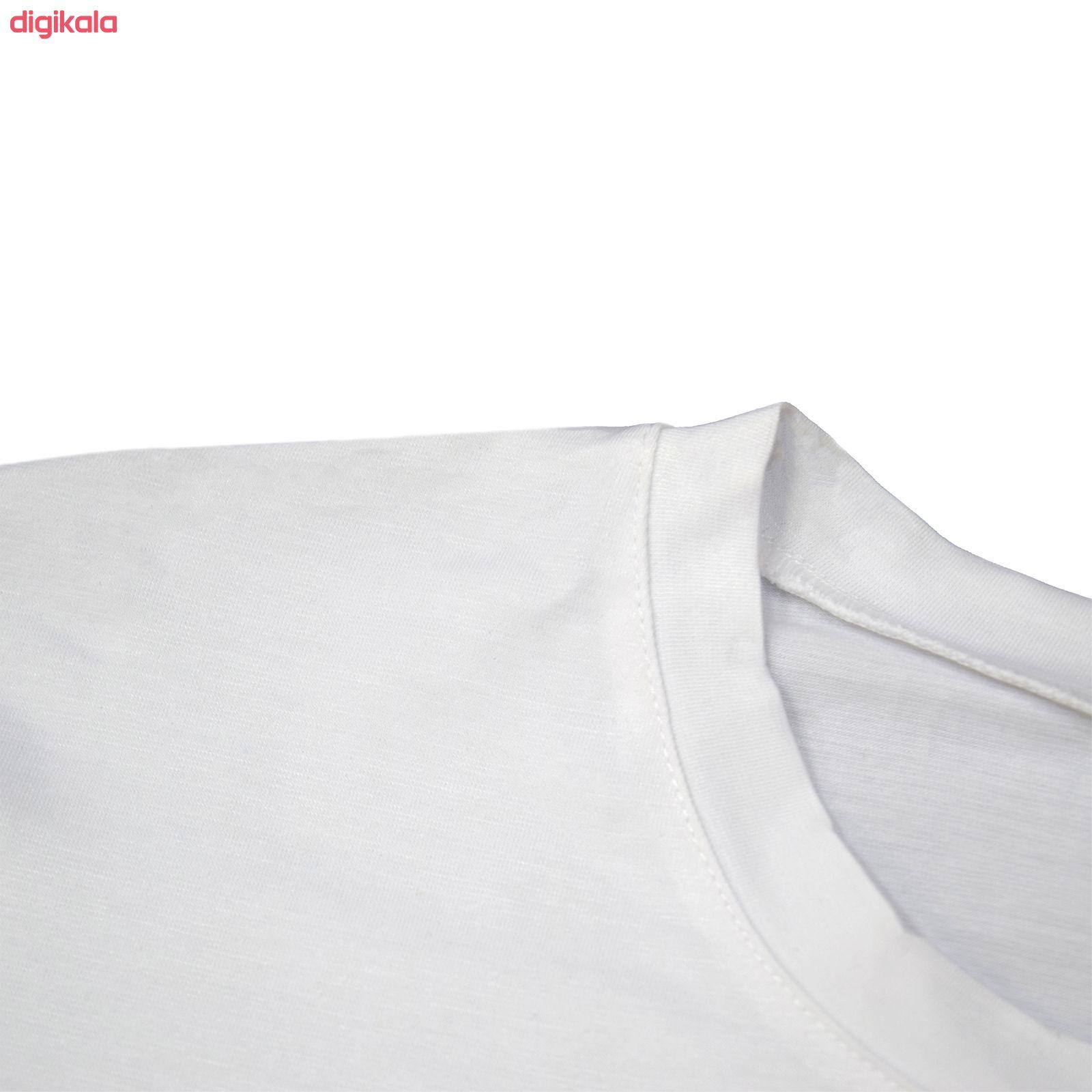 تی شرت آستین کوتاه زنانه طرح فرندز کد Z84 main 1 2