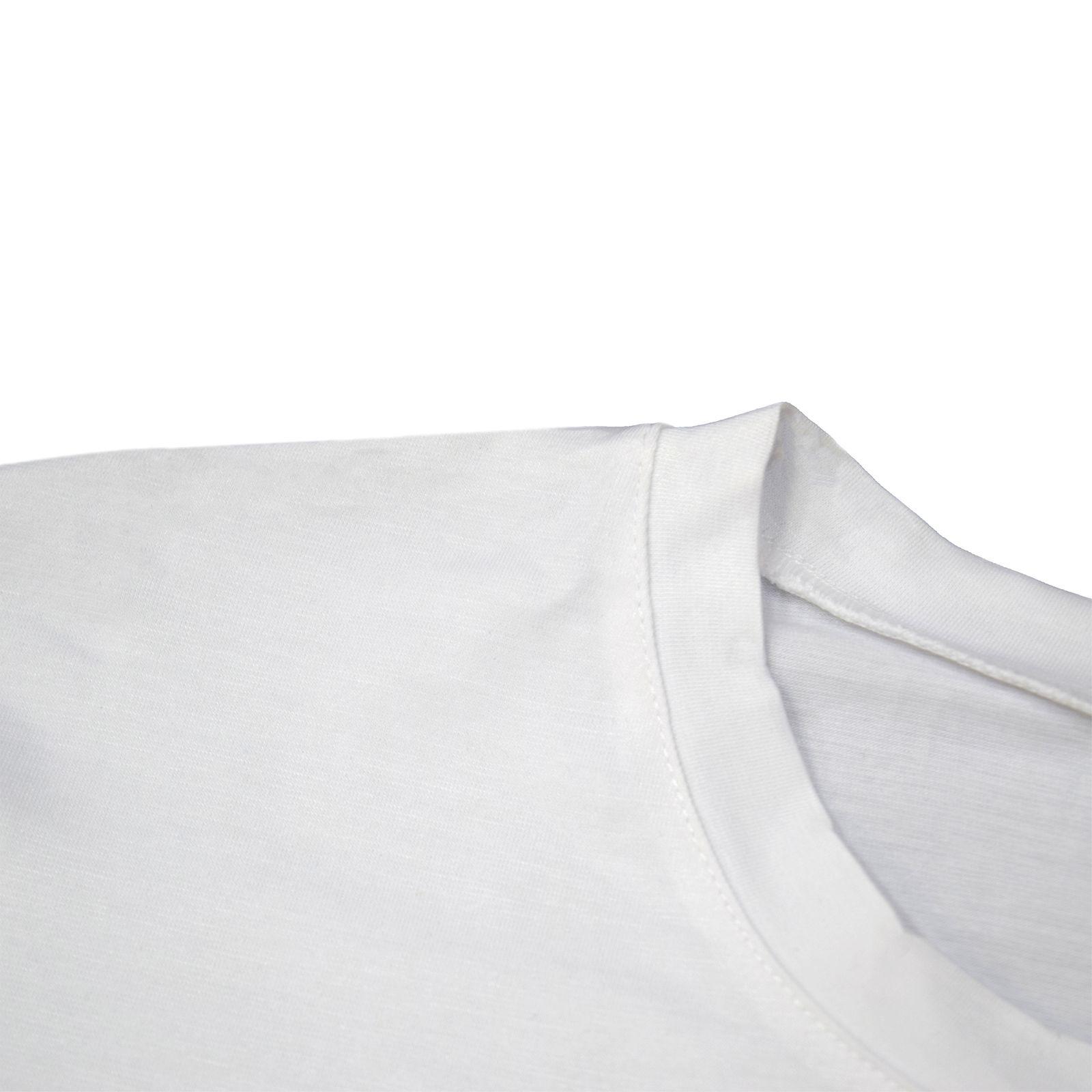 تی شرت آستین کوتاه زنانه طرح فضانورد کد Z377 -  - 4