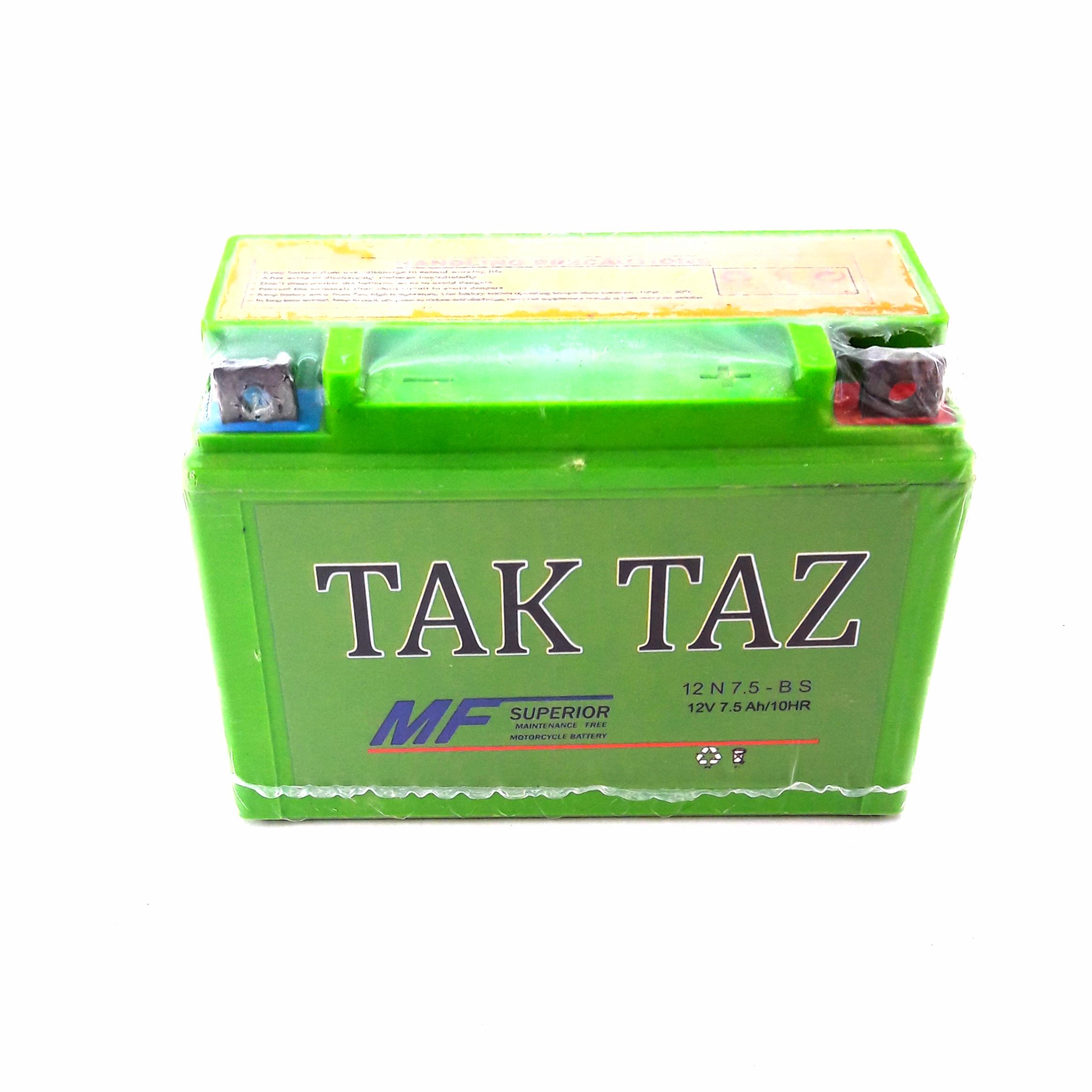 باتری موتورسیکلت مدل تکتاز.tk21