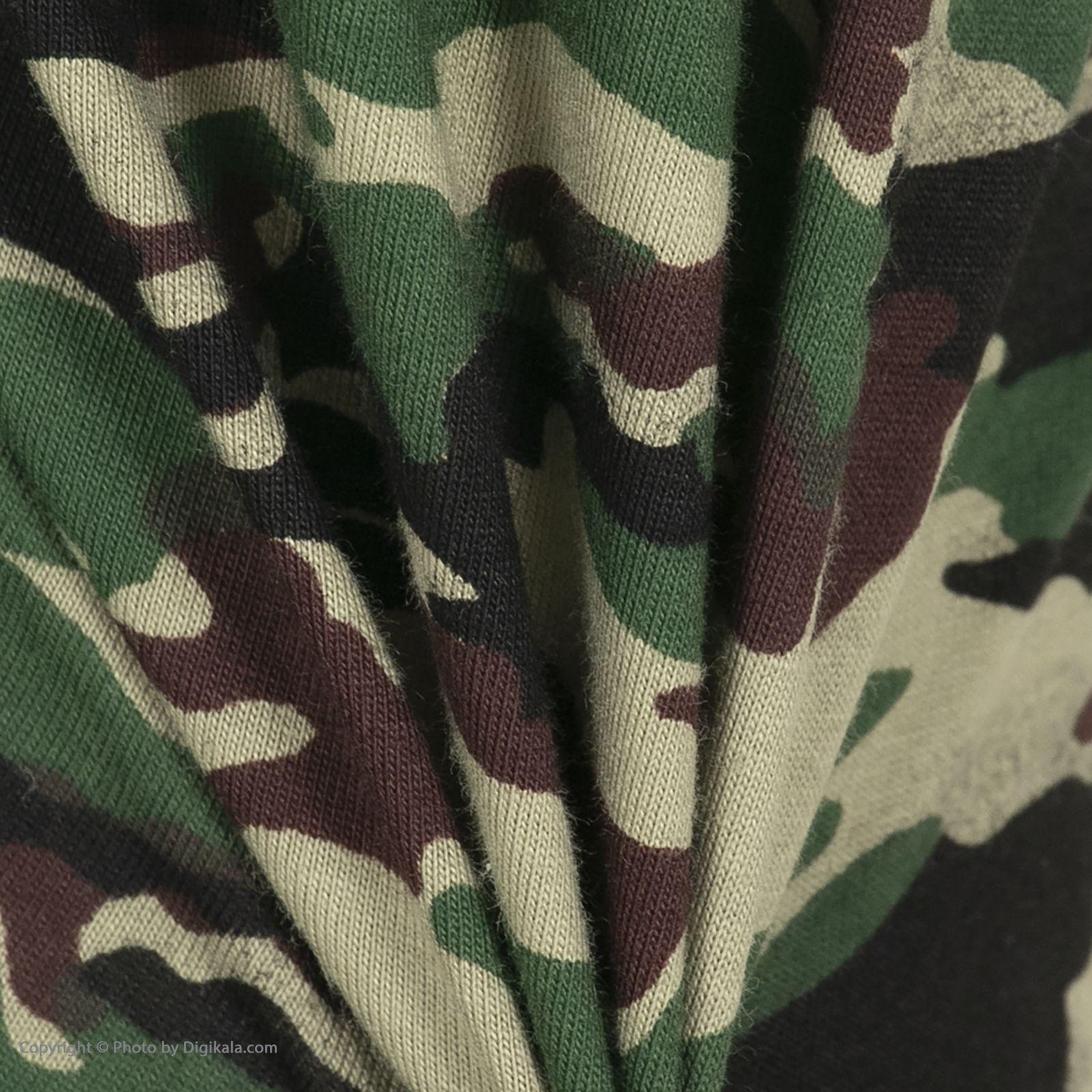 ست تی شرت و شلوارک راحتی مردانه مادر مدل 2041108-49 -  - 11