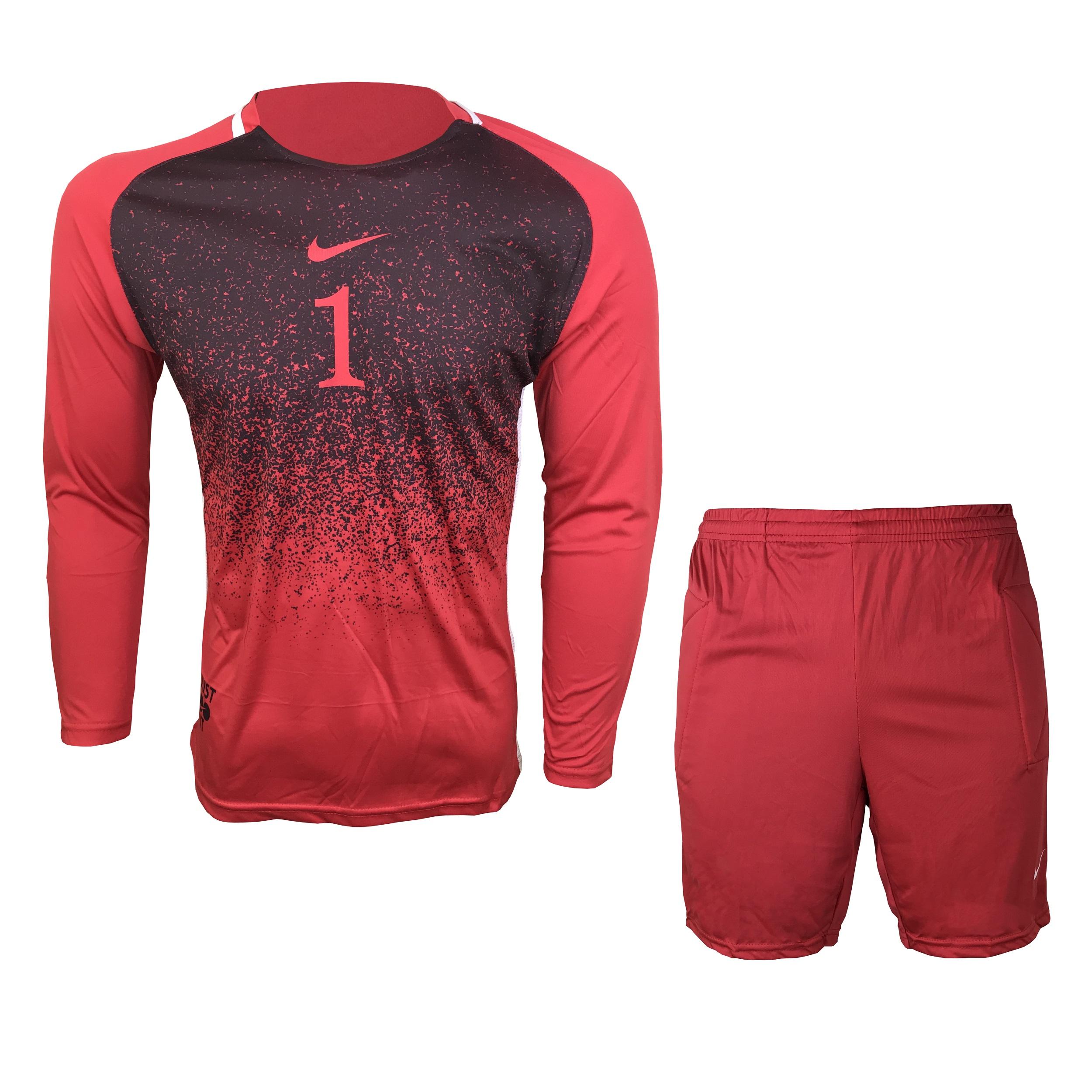 ست پیراهن و شورت دروازه بانی مردانه مدل N-R1