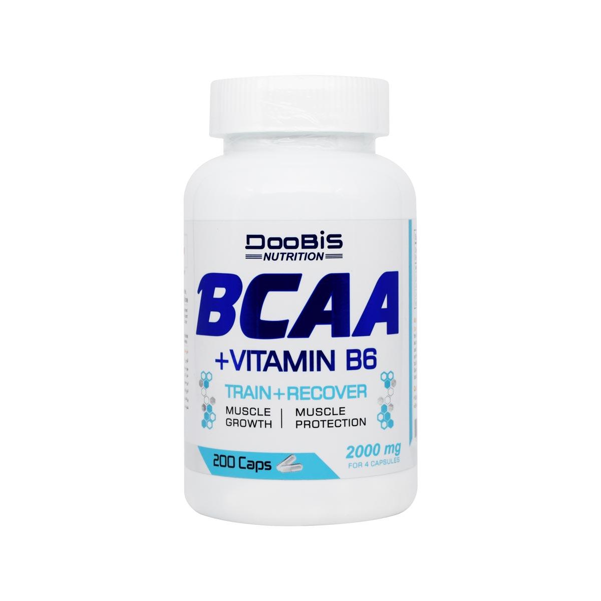 کپسول بی سی ای ای و ویتامین B6 دوبیس بسته 200 عددی