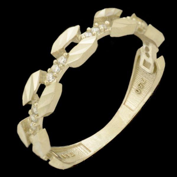 انگشتر طلا 18 عیار زنانه طلای مستجابی کد 670161